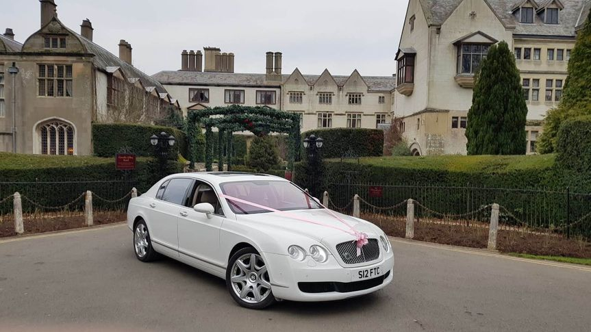 Bentley Flying Spur luxury wedding car