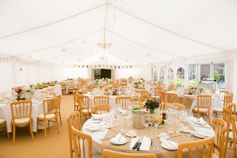 Attached & Heated Marquee