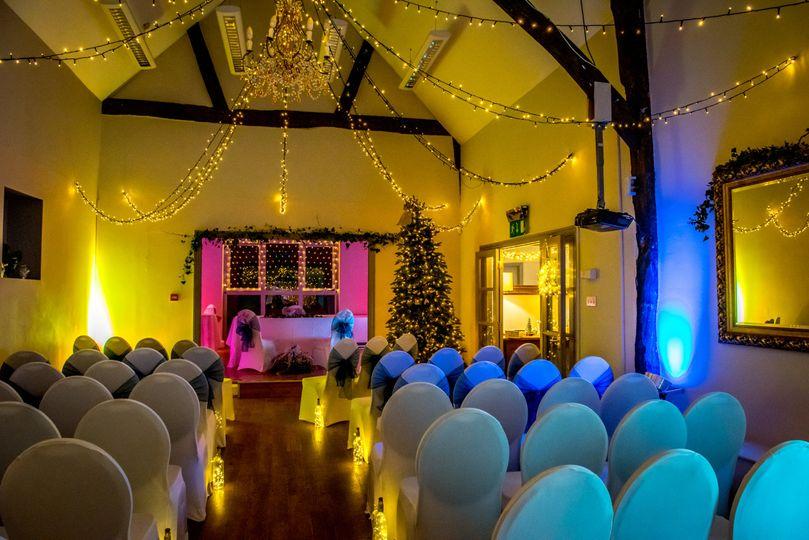 Cosy Barn Winter Weddings