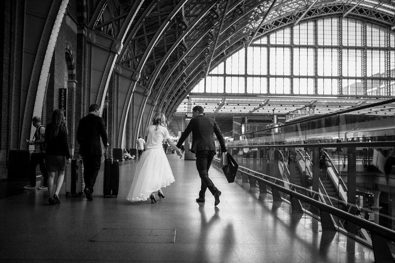 St Pancras Station Departure