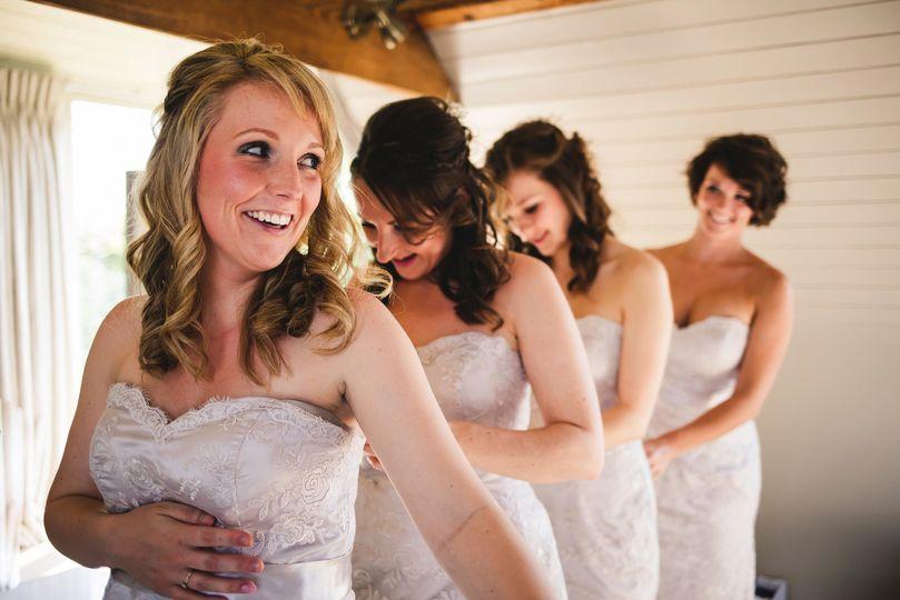 Bridesmaid Train at South Farm