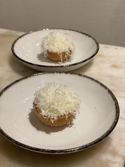 Parmesan tart