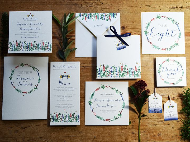 Bee Loved Stationery Suite