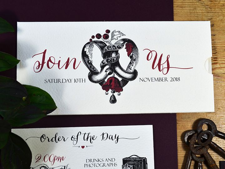 Cockney Rhymes Invitation