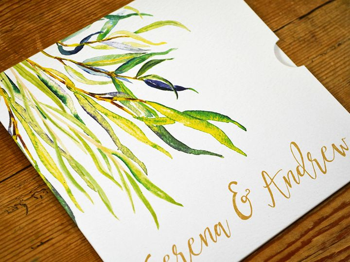 Whimsical Willow Wallet Invite