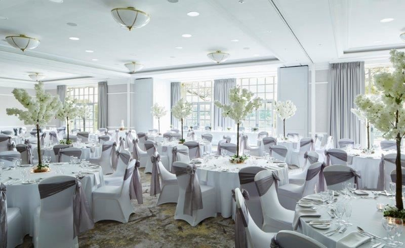 Arden Suite Wedding Breakfast Set Up