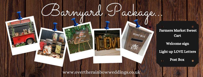 Barnyard Hire Package