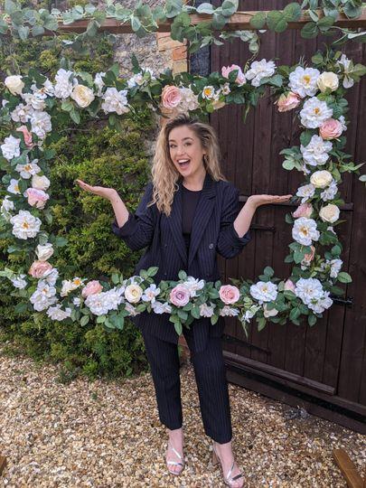Floral Selfie Frame
