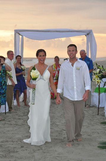 American pacific wedding