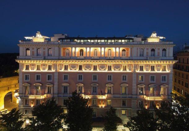 Rome Marriott Grand Hotel Flora 2