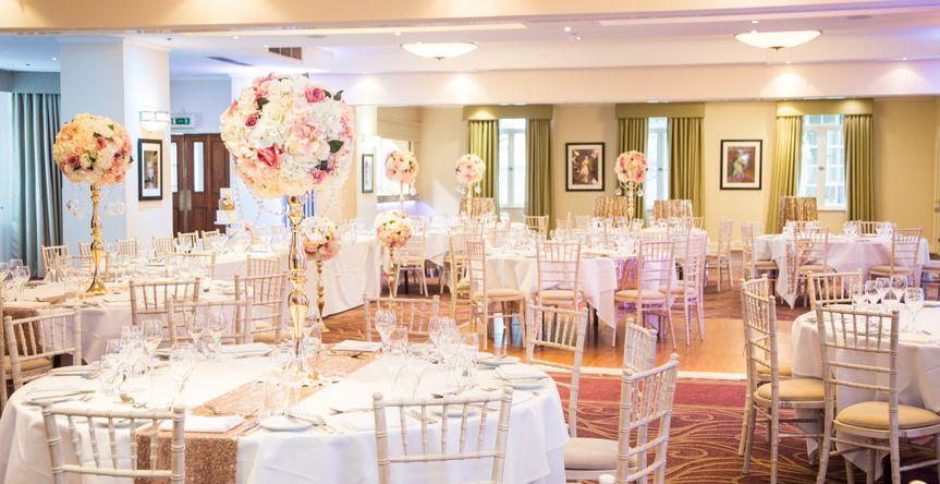 York Suite Wedding Reception