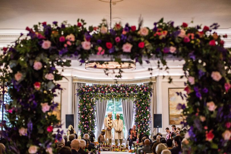 An Asian Ceremony in the Mulberry Suite