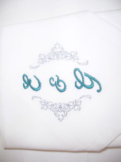 Napkins for favours