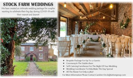 Stock Farm Wedding and Events Barn 1