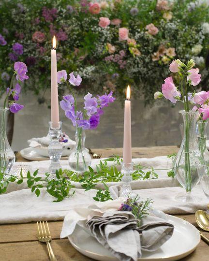 Dreamy tablescape