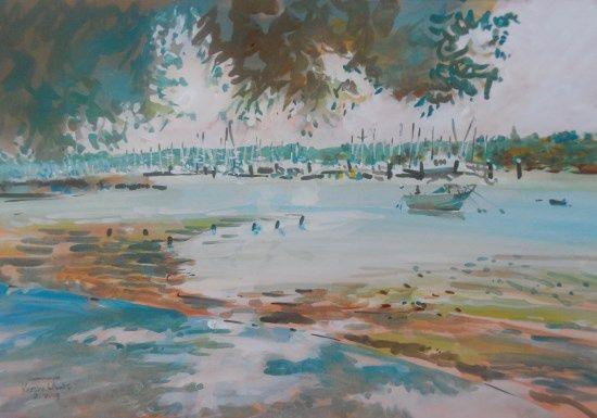 River Hamble, Kirstin White