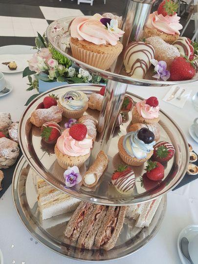 Afternoon tea wedding breakfas