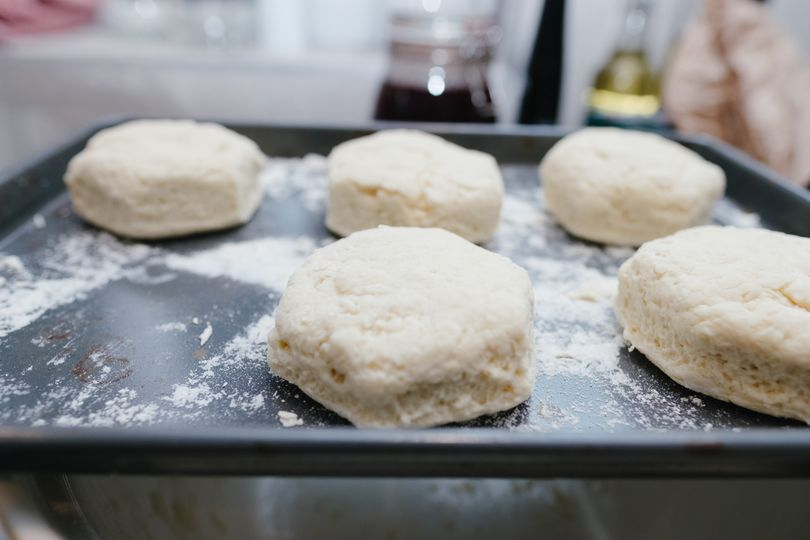 Our scones are made fresh