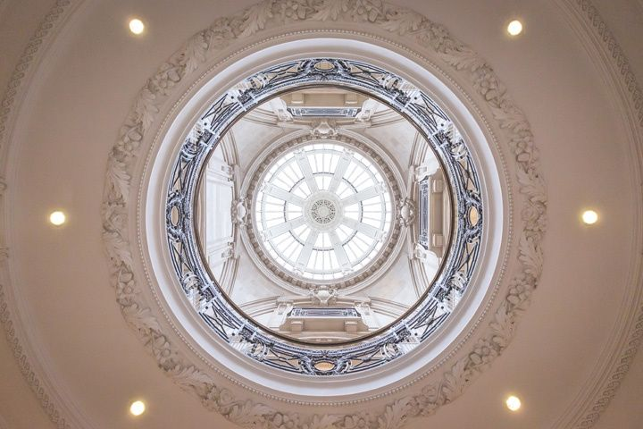 Glass Dome at One Great George Street