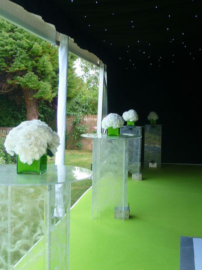Lime Marquee