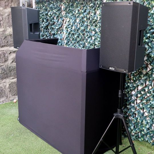Black DJ booth