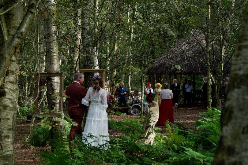 Cheshire Woodland Weddings 64
