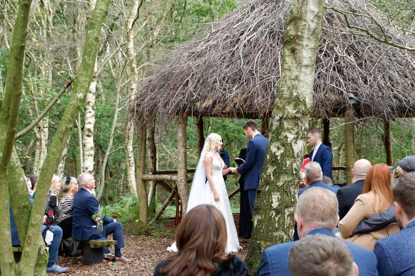 Cheshire Woodland Weddings 77
