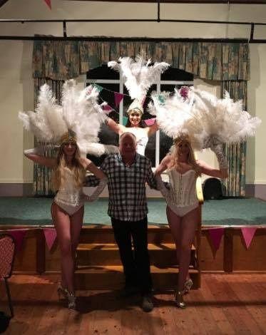 Showgirls meet and greet
