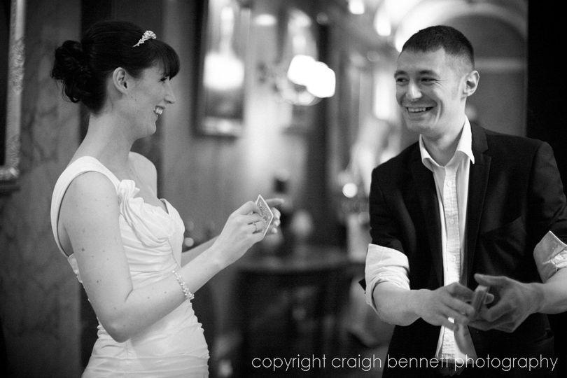 magic with bride 4 107834