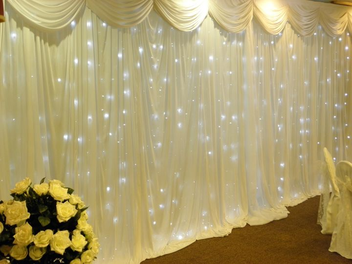 Fairylight backdrop