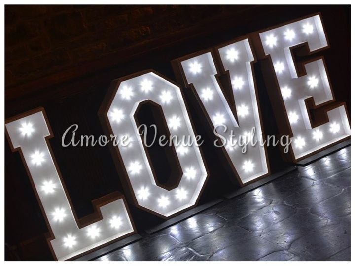 Wedding Love Sign