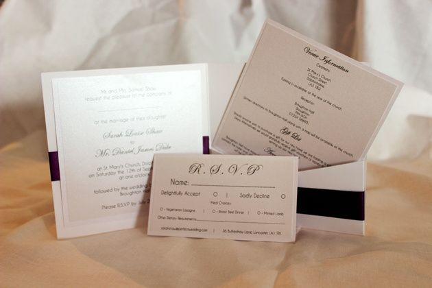 Pocket invitation