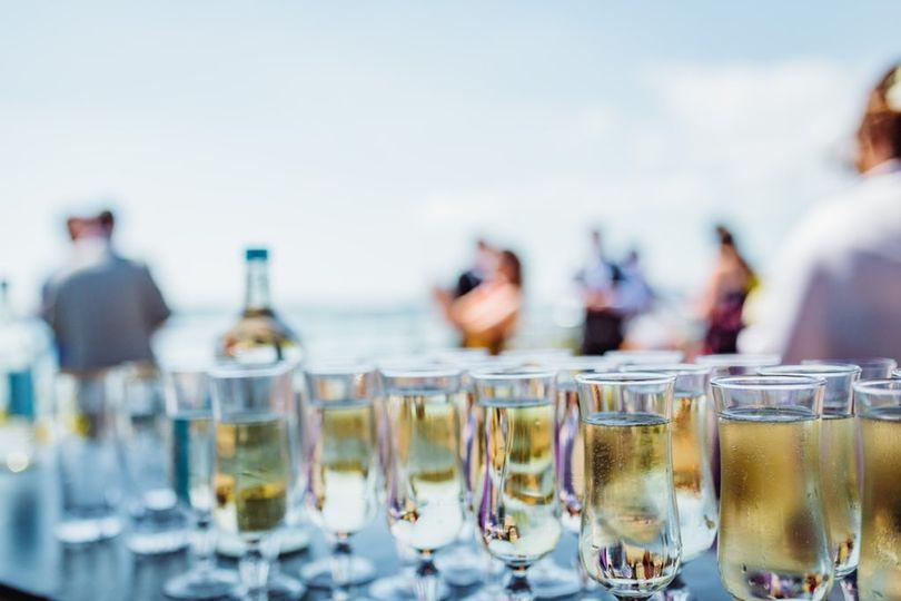 Drinks on the sun terrace