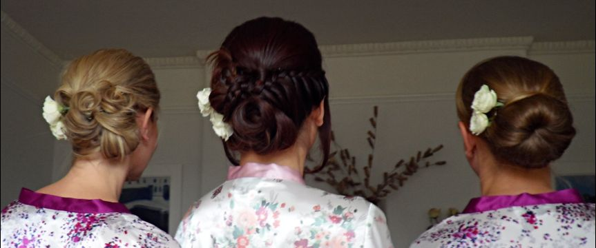 Hair up hairstyle