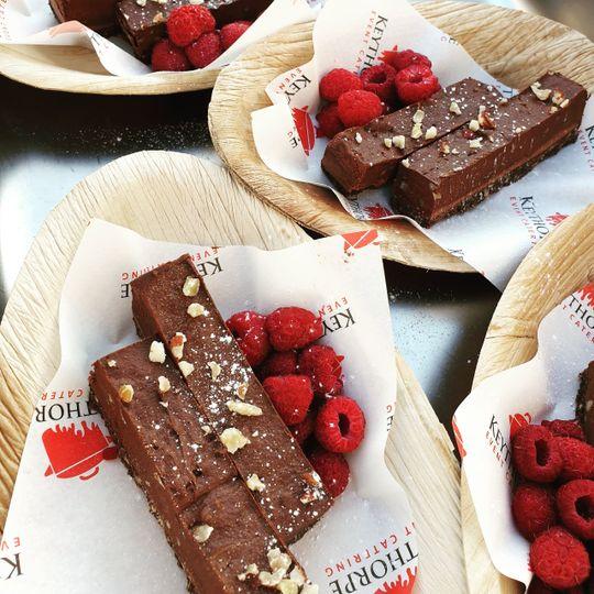 Vegan chocolate desserts