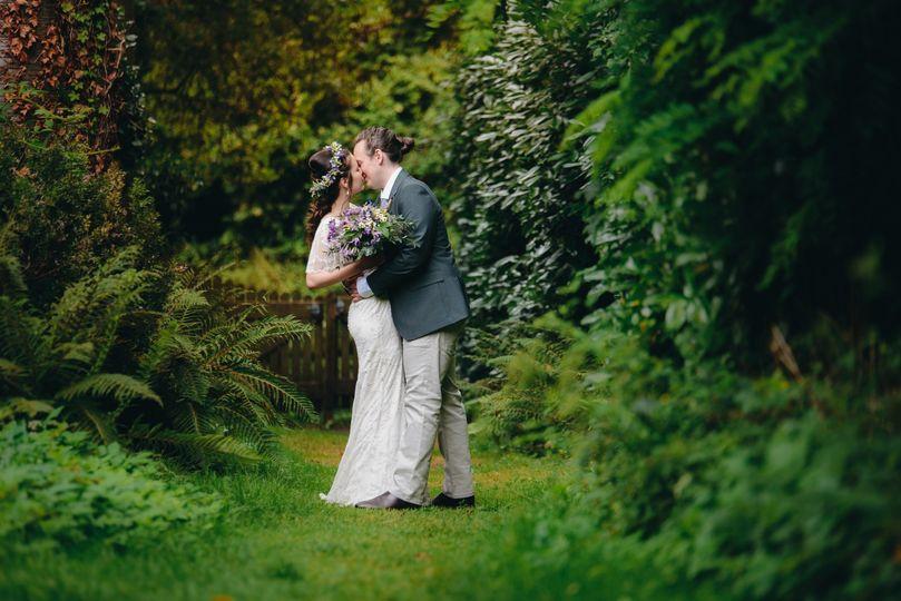 Wedding photography Usk Castle