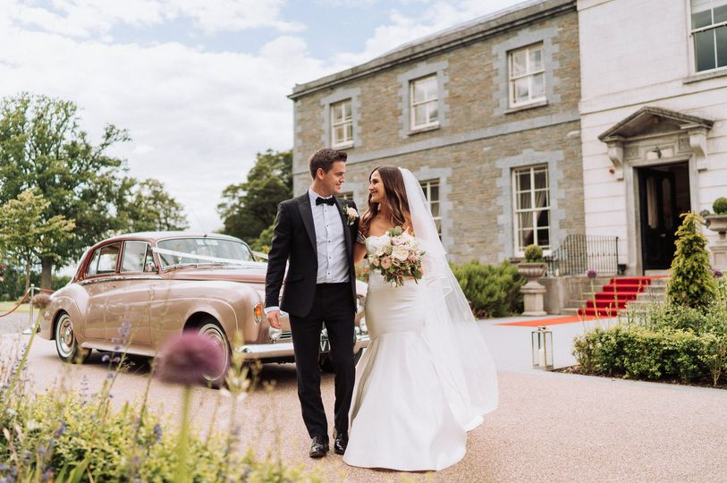 Arrival at Tankardstown House