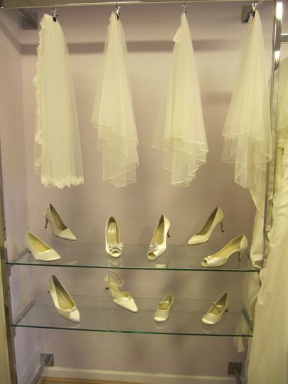 Shoes and veils