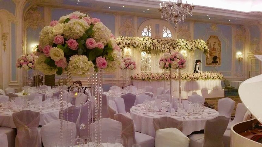 Large floral centrepiece