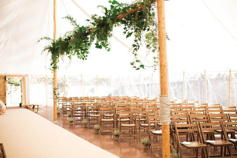 ceremony traditional marquee 4 167895