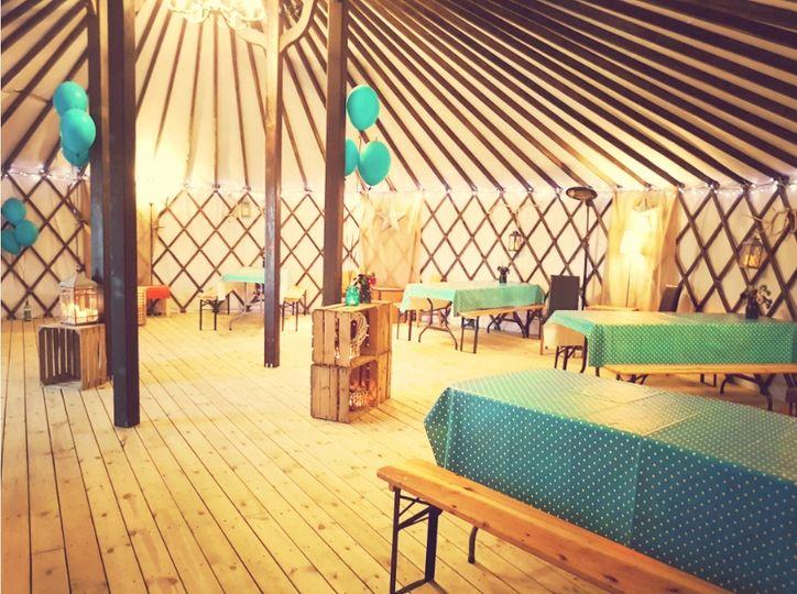The Salix Yurts 1