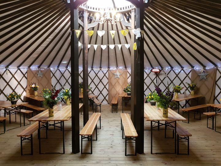 The Salix Yurts 32