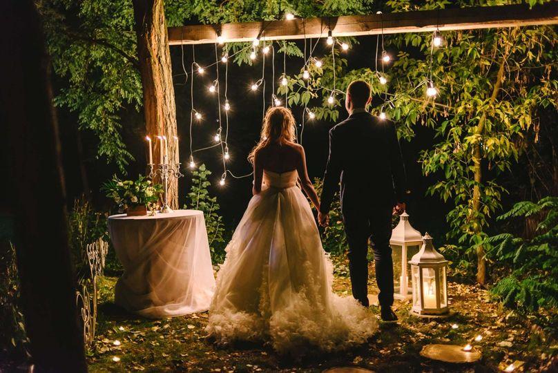 Boho-chic wedding celebration