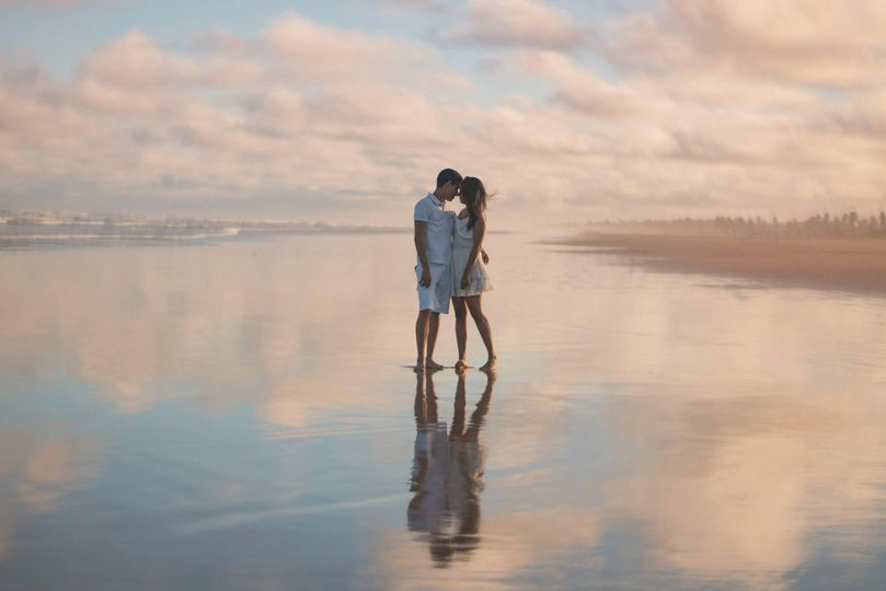 couple standing in water 4 277905 161592703094947