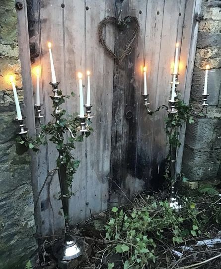 Beautiful candelabras