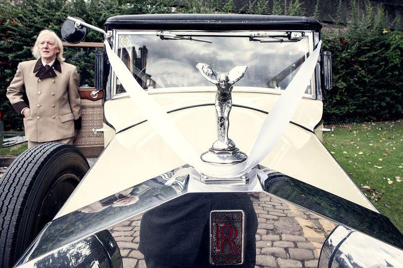 Trusty Rolls Royce