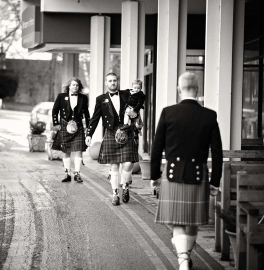 Stand-out Scottish kilts