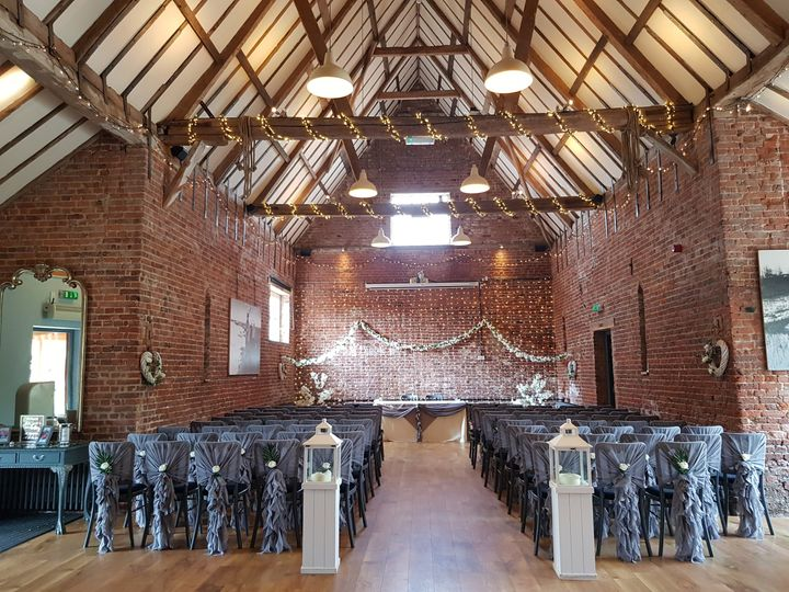 The Granary Wedding Barn 34