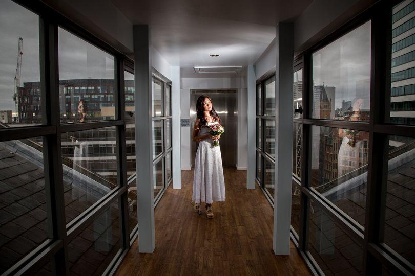 Bride in the City