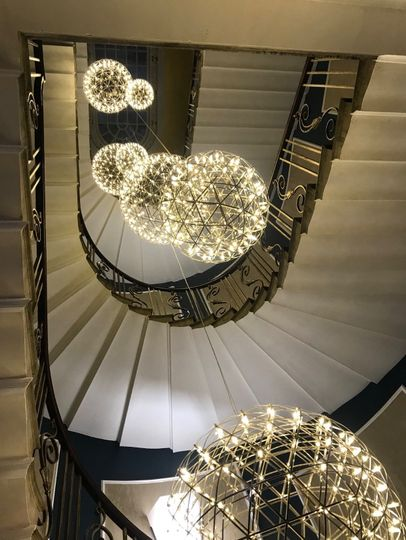 The free standing staircase